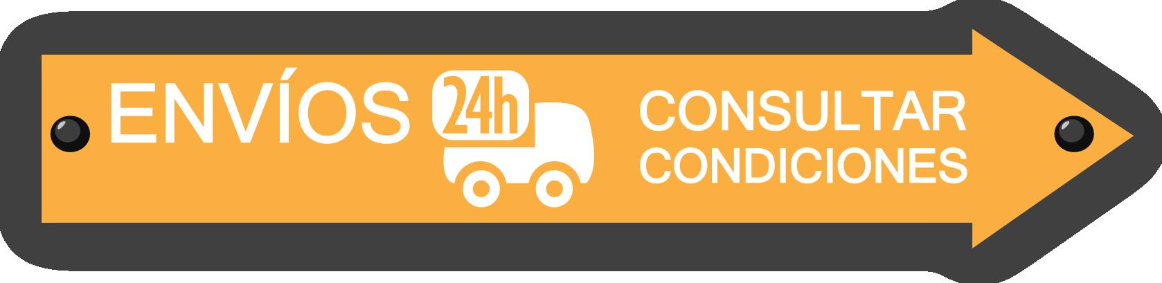 Ver Condiciones de los Envíos 24 horas
